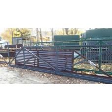 Stumdomi vartai (žaliuzi užpildu)